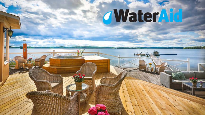 Samarbetet mellan Krägga Gerrgård och WaterAid inleds idag på Världsvattendagen