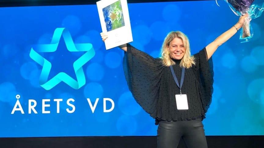 Pernilla Ramslöv utsedd till Årets VD