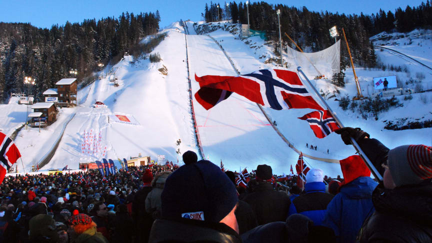 Hyundai sponser skihopping