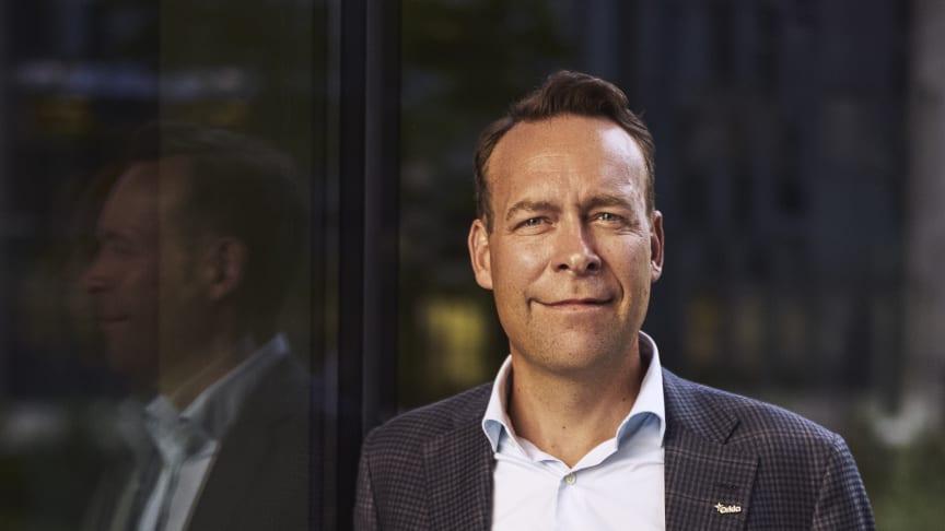 President and CEO Jaan Ivar Semlitsch. Photocred: Bjørn Wad