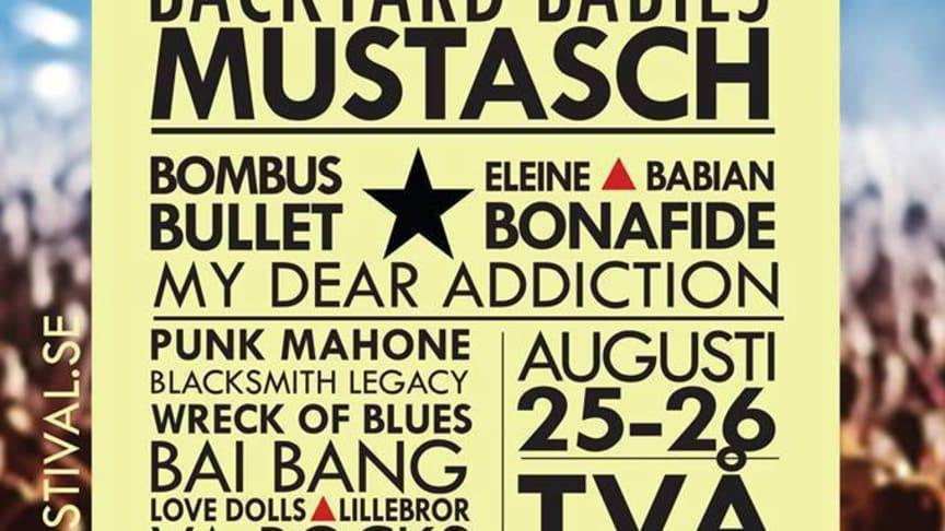 ROCK IT Festival presenterar THE HEADLINES extrainsatt gig 25 augusti!