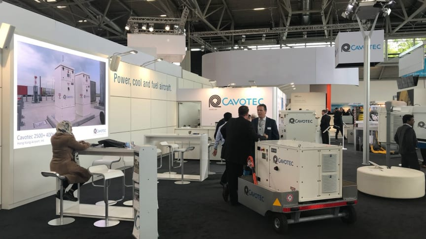Cavotec at inter airport Europe 2017