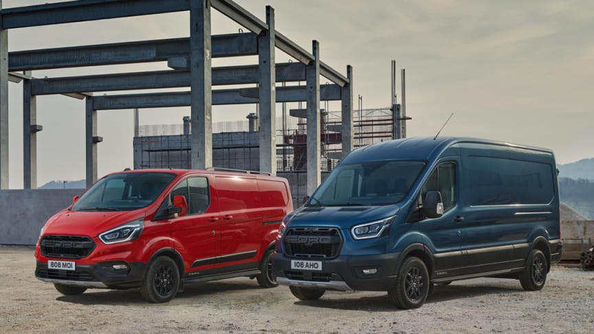 Noile versiuni de echipare Trail și Active duc gama Ford Transit pe un nou teritoriu