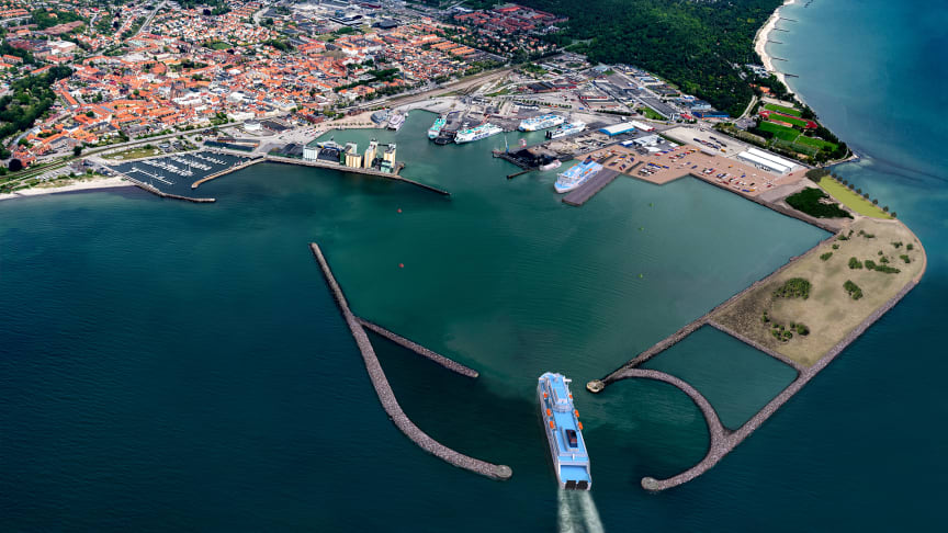 The port of Ystad is Sweden's third-largest port for ferry passengers and the country's fifth-largest in terms of cargo vehicles.