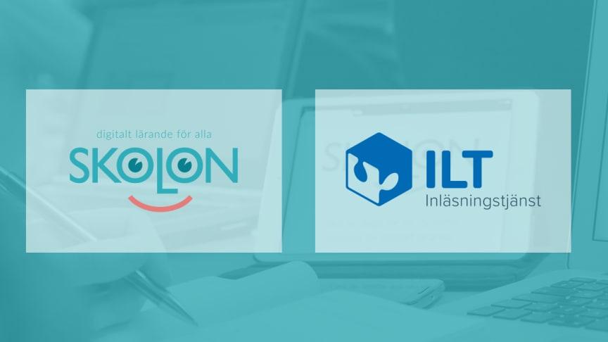 Skolon och ILT Inläsningstjänst inleder samarbete för att förenkla för kunderna