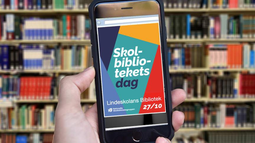 Skolbibliotekets Dag firas i höst på Lindeskolans Bibliotek i Lindesberg