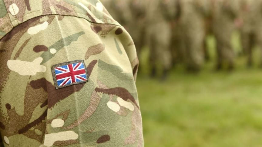 The partnership between Northumbria's Northern Hub for Veterans and Military Families Research and Fighting with Pride is the first of its kind in the UK. (Shutterstock: 1506427451)