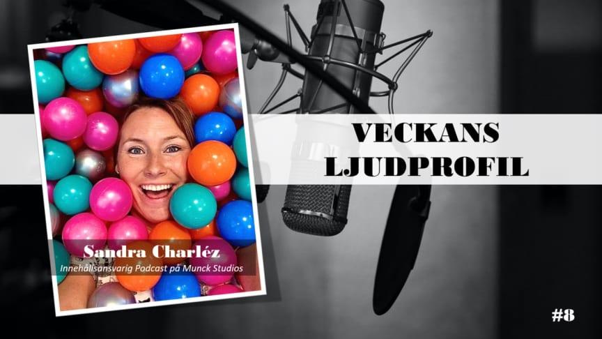 Veckans ljudprofil - Sandra Charléz