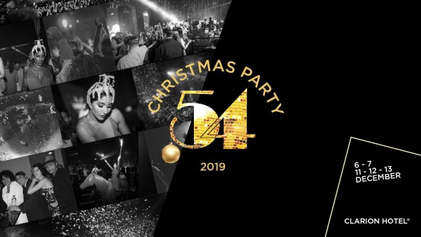 Studio 54 gästar Malmhattan i december 2019.