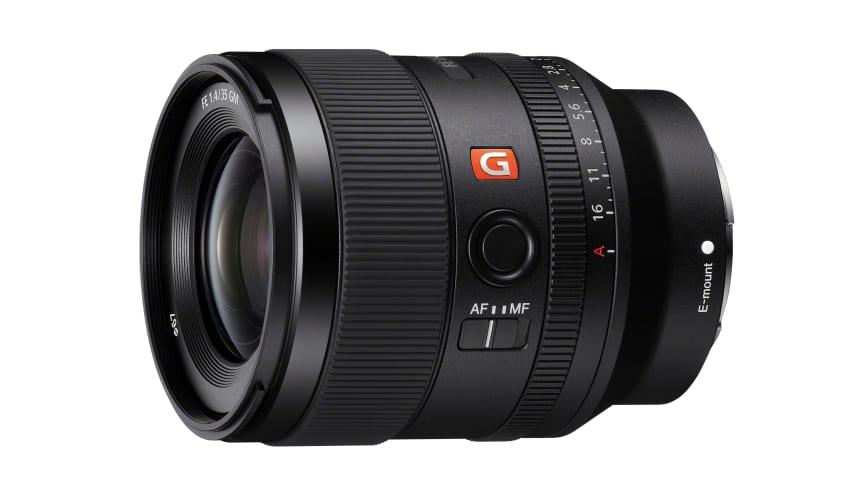 Η Sony ανακοινώνει την πιο πρόσφατη προσθήκη στην G Master™ σειρά Full-Frame φακών της με τον FE 35mm F1.4 GM