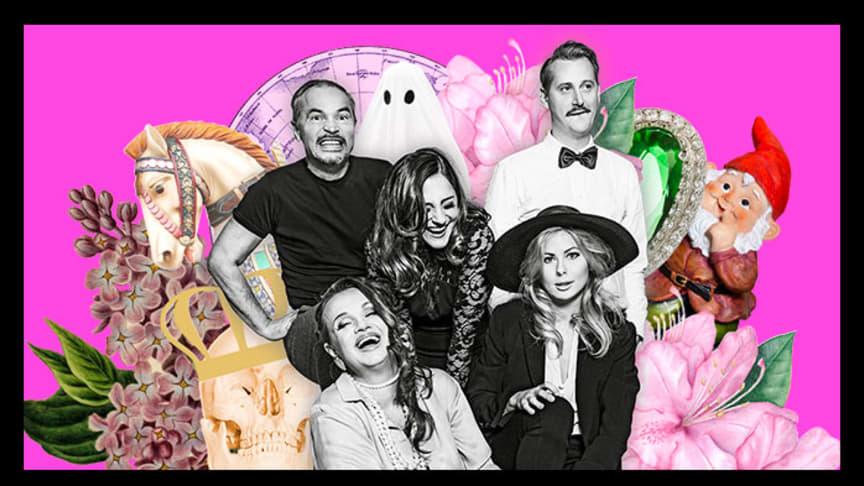 """I """"Stora drömmar"""" medverkar Sasha Becker, Nils Dernevik, Jörgen Düberg, Maria Kulle och Lisa Larsson. Foto: Sophie Håkansson."""