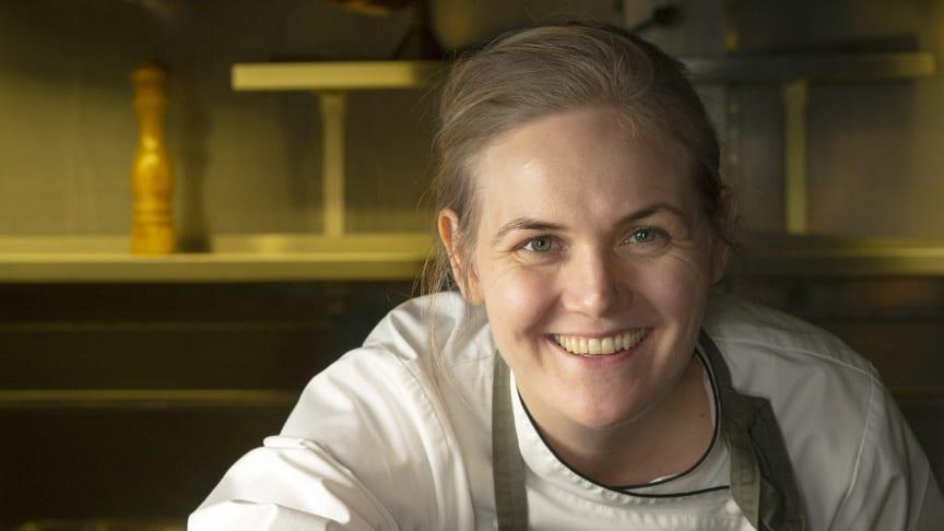Kocken Linnéa Liljedahl tar fram gourmetmeny – till mjölk