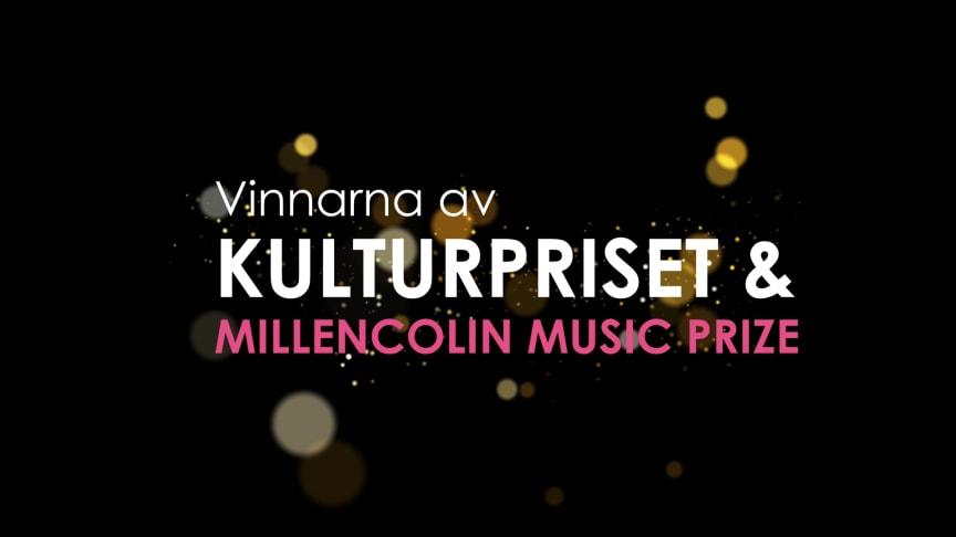 Vinnarna av Kulturpriset och Millencolin Music Prize är ...