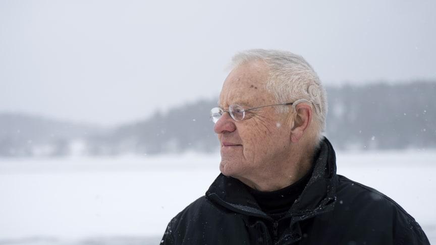 Lennart, användare av cochleaimplantat