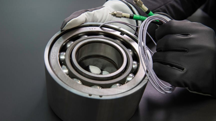 SKF's new sensor bearing units for load measurement will be on show for the first time in Sweden at Elmia Subcontractor's IoT Arena
