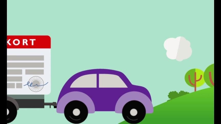 Ta med körkortet till återvinningscentralen