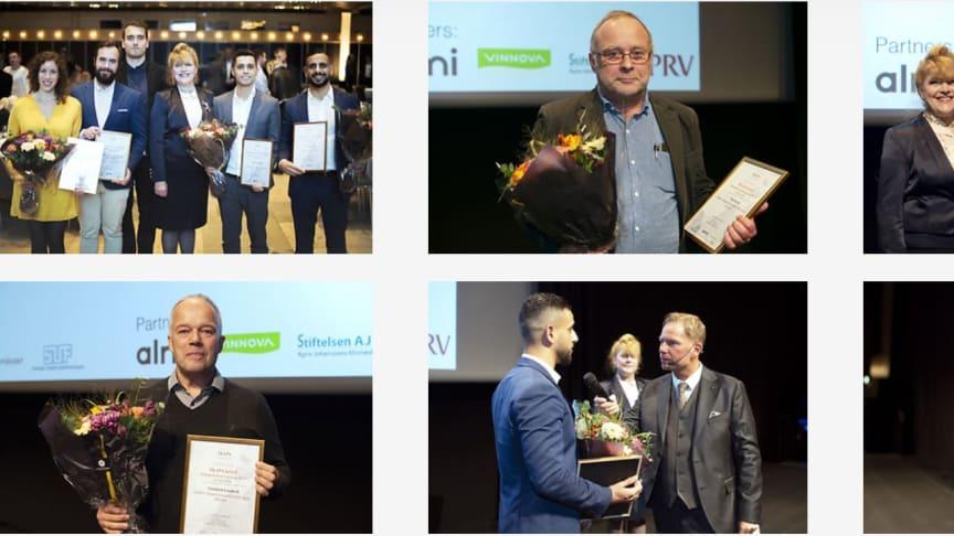Pristagare i SKAPA-priset och SKAPA-unga talanger 2018