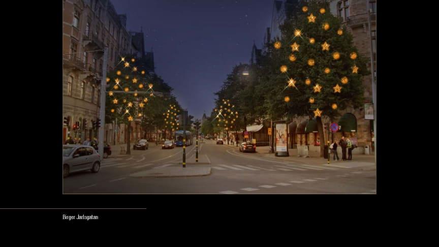 Stockholms stad och City i Samverkan presenterar Stockholmsjul: Storsatsning på julbelysning i staden 2011