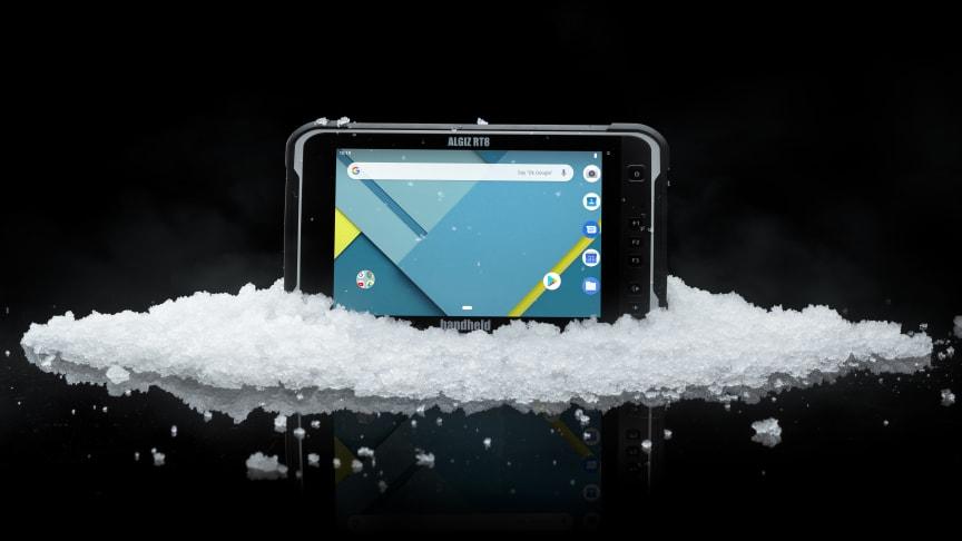 Algiz RT8 är en unik stryktålig 8-tums Android-tablet utvecklad för arbete i tuffa förhållanden. Den har en 8-tums kapacitiv skärm förstärkt med Gorilla Glass, regnläge och handskläge.