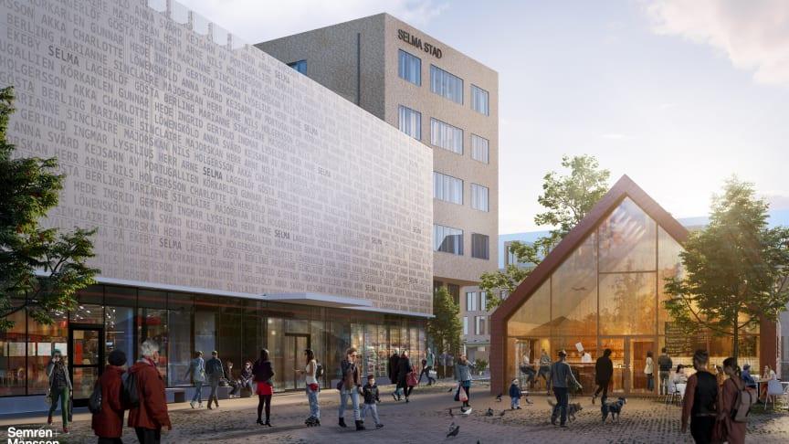 Handelshuset i Selma stad certifierat med Miljöbyggnad Silver