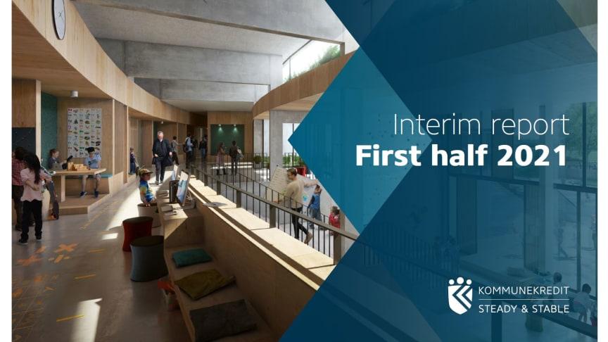 KommuneKredit announces Interim Report for 1st Half of 2021