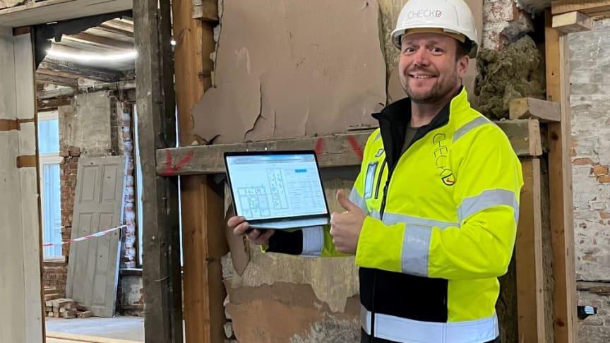 Tom-Erik von Krogh Martinsen, founder and CEO at Checkd.