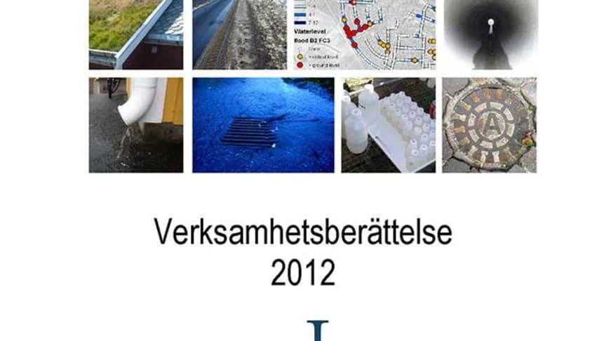 SVU-rapport C VB2012_DagNatLTU: Dag&Nät Verksamhetsberättelse 2012 (Rörnät/Avlopp & Miljö)