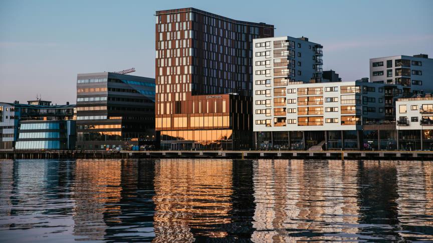 ÅPNER BODØS STØRSTE HOTELL: Quality Hotel Ramsalt er nå åpent.