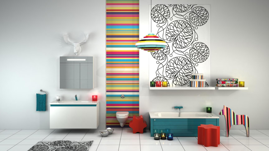 Blå Birger hetaste trendfärgen i badrummet