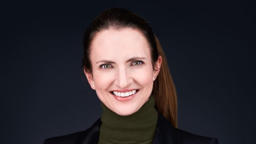 'Ik voel me zeer vereerd om de toekomstige CEO van Visma te mogen zijn', zegt Merete Hverven.