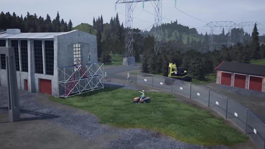 Tillträde till elektriska anläggningar - demovideo