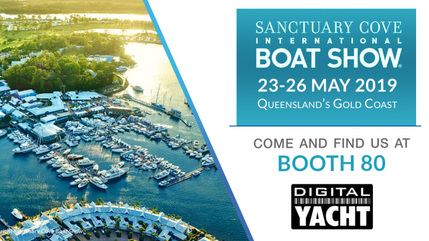 Digital Yacht will be exhibiting with All Sat on booth 80 at Sanctuary Cove Boat Show