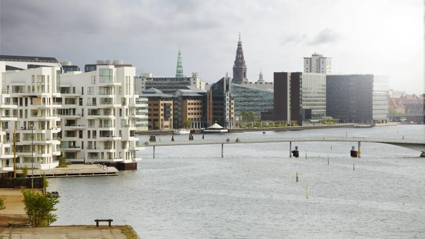 Kvadratmeterpriserne på ejerlejligheder i Danmark er i gennemsnit steget med 4,2 pct. siden årets begyndelse.