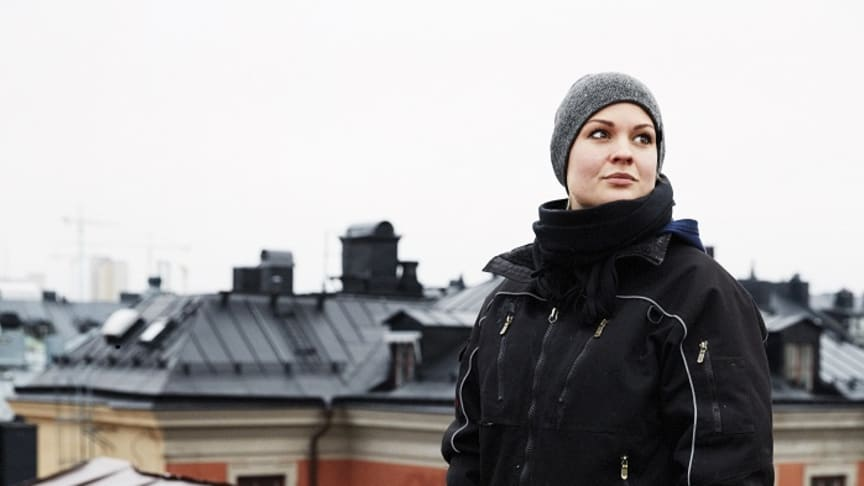 Mathilda Klinger Danielsson, 2018 års Isabellestipendiat. Foto: Björn Petrén