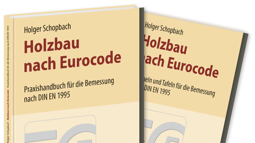 """""""Holzbau nach Eurocode"""" mit herausnehmbarer Formelsammlung"""