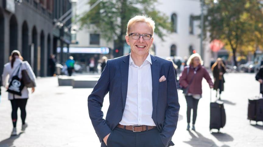 Visma Public Oy:n toimitusjohtaja Juha Mäntylä