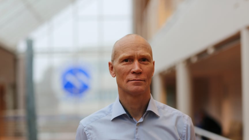 Rektor Steinar Kristoffersen ved Høgskolen i Molde. Foto: Jan Ragnvald Eide - HiMolde