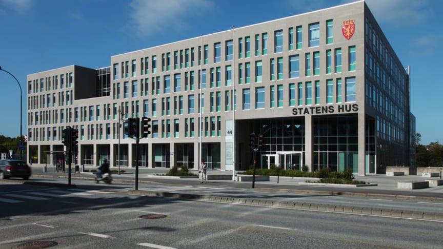 Statens Hus i Stavanger er et moderne, miljøvennlig og fremtidsrettet bygg.