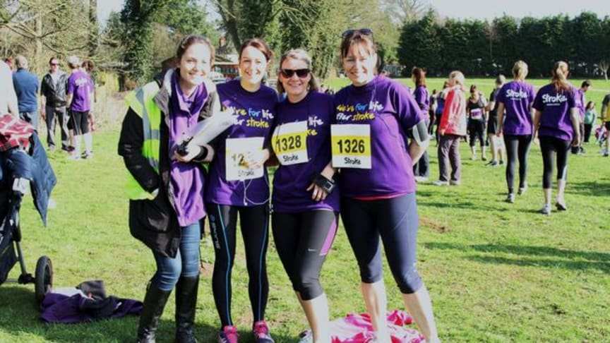 Stroke Association urges runners in Devon to make a resolution that counts