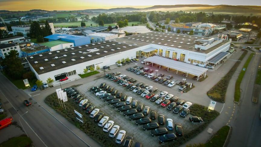 Den BMW-eide forhandleren Zürich-Dielsdorf, endrer navn til Hedin Automotive Dielsdorf