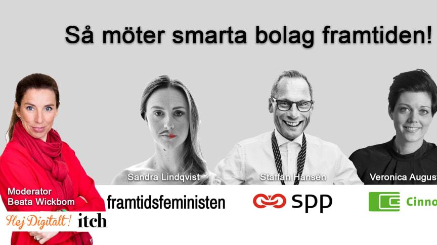 Så möter smarta bolag framtiden - TID: Ons 5 juli kl 13.00 -  PLATS: Italienaren, Hästgatan 2, Visby