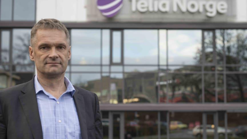 Grunnleggende uenig i konklusjonen: Abraham Foss, administrerende direktør i Telia Norge.