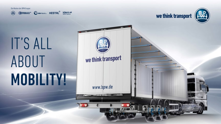 The BPW Group offers all the success factors for optimum mobility from a single source.