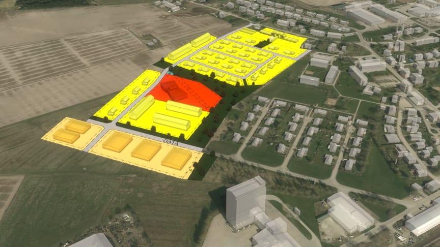 Detaljplan för Källeberg 1:205 i Brålanda fick laga kraft den 14 september 2021.