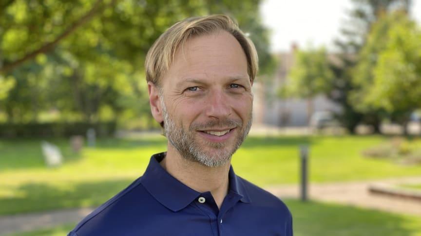 Björn Rinstad, vd på Leksands Sparbank