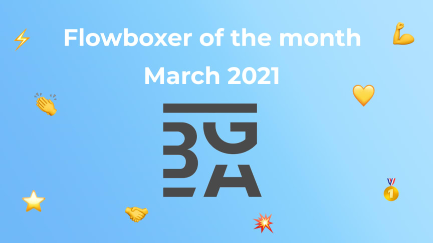 Flowboxer of the month – March 2021: BGA