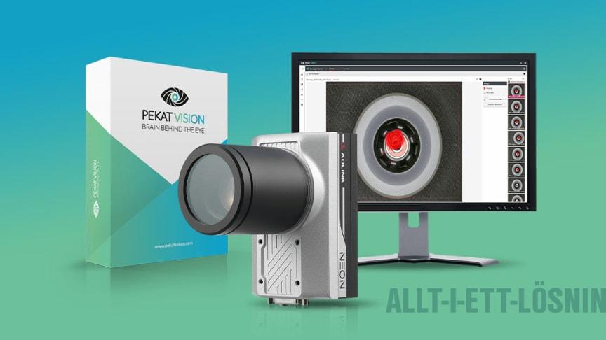 Pekat Vision lanserar nu en attraktiv allt-i-ett-lösning för kvalitetsinspektion med AI.