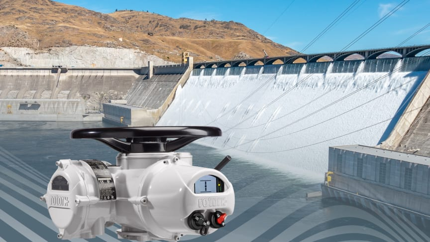 Rotork IQ actuators operate cone valves at the Nathaniel Washington Powerplant which enable  precise control of water through the penstock systems.