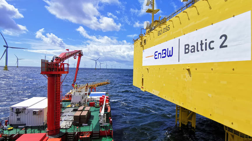 'The waters of the Baltic and the low turbine height make the gangway system on the 'Esvagt Dana' ideally suited to the work that needs doing there.'