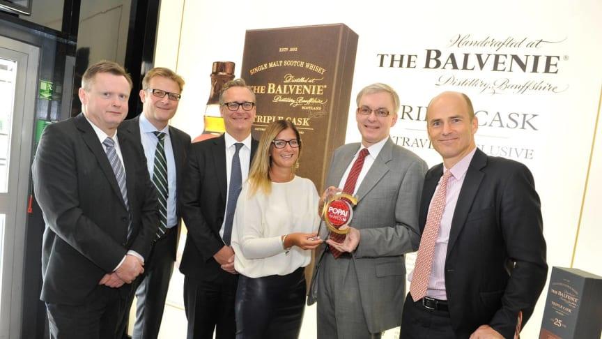 Scandlines' BorderShop modtager pris for bedste shop in shop